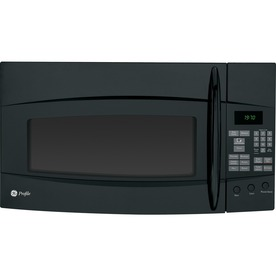 GE Profile 1.9 cu ft Over-the-Range Microwave (Black)