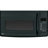 GE 1.9-cu ft Over-The-Range Microwave with Sensor Cooking Controls (Black) (Common: 30-in; Actual: 29.87-in)