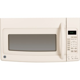 GE 1.9 cu ft Over-the-Range Microwave (Bisque)