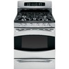 GE Profile 30-in 5-Burner Freestanding 6.4 cu ft Convection Gas Range (Stainless Steel)
