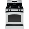 GE 30-in Freestanding 4.8 cu ft Gas Range (Stainless Steel)