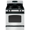 GE 30-in Freestanding 4.8 cu ft Gas Range (Silver)