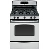 GE 5-Burner Freestanding 5-cu Self-Cleaning Gas Range (Stainless Steel) (Common: 30; Actual: 30-in)