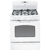 GE 30-in 5-Burner Freestanding 5 cu ft Convection Gas Range (White)