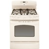 GE 30-in 5-Burner Freestanding 5 cu ft Convection Gas Range (Bisque)