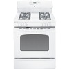 GE 30-in Freestanding 4.8 cu ft Gas Range (White)