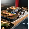 GE Cafe 5-Burner Gas Cooktop (Stainless Steel) (Common: 36-in; Actual: 36-in)