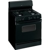 Hotpoint 30-in Freestanding 4.8 cu ft Gas Range (Black)