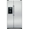 GE 25.3 cu ft Side-by-Side Refrigerator (Stainless Steel) ENERGY STAR