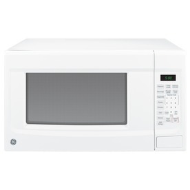 GE 1.4 cu ft 1100-Watt Countertop Microwave (White)