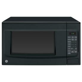 GE 1.4-cu ft 1,100-Watt Countertop Microwave (Black)
