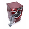 GE 4.8-cu ft High-Efficiency Front-Load Washer with Steam Cycle (Ruby Red) ENERGY STAR