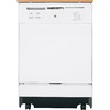 GE 24.875-in 64-Decibel Portable Dishwasher (White) ENERGY STAR