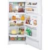 GE 16.5-cu ft Top-Freezer Refrigerator (White) ENERGY STAR