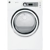 GE 7 cu ft Gas Dryer (White)