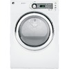 GE 7.5 cu ft Reversible Side Swing Gas Dryer (White)