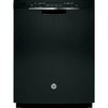 GE 24-in Built-In Dishwasher with Hard Food Disposer (Black) ENERGY STAR