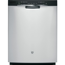 GE 24-in Built-In Dishwasher with Hard Food Disposer (Stainless Steel) ENERGY STAR