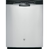 GE 54-Decibel Built-In Dishwasher with Hard Food Disposer (Stainless Steel) (Common: 24-in; Actual 23.75-in) ENERGY STAR