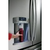 GE 27.7-cu ft French Door Refrigerator with Dual Ice Maker (Stainless Steel)