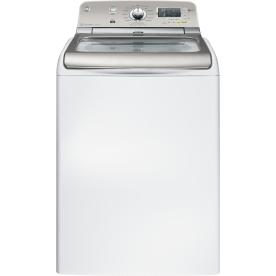 GE 4.8-cu ft High-Efficiency Top-Load Washer (White) ENERGY STAR