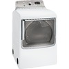 GE 7.8-cu ft Electric Dryer with Steam Cycles (White)