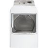 GE 7.8 cu ft Side Swing Electric Dryer (White)