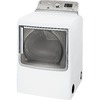 GE 7.8-cu ft Gas Dryer with Steam Cycles (White)