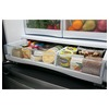 GE 26.3-cu ft Bottom-Freezer Refrigerator with Single Ice Maker (Stainless Steel)