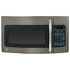 GE 1.7 cu ft Over-the-Range Microwave (Slate)