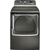 GE 7.8-cu ft Electric Dryer with Steam Cycles (Metallic Carbon)