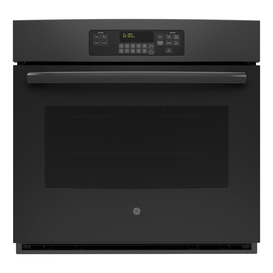 single electric wall oven self cleaning black jrpbjbb