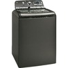 GE 5-cu ft High-Efficiency Top-Load Washer (Metallic Carbon) ENERGY STAR