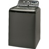 GE 5 cu ft High Efficiency Top-Load Washer (Metallic Carbon) ENERGY STAR