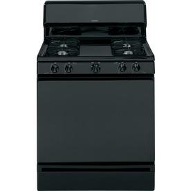 Hotpoint 30-in Freestanding 4.8-cu ft Gas Range (Black)
