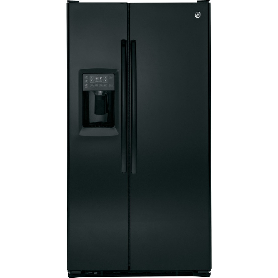 side by side refrigerators from ge appliances autos post. Black Bedroom Furniture Sets. Home Design Ideas