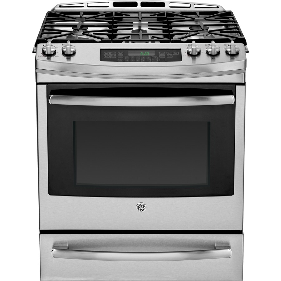 Stainless Steel Stove : ... Range (Stainless Steel) (Common: 30-in; Actual: 30-in) at Lowes.com