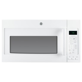 GE 1.9-cu ft Over-the-Range Microwave with Sensor Cooking Controls (White) (Common: 30-in; Actual: 29.75-in)