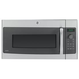 GE Profile 1.7-cu ft Over-The-Range Convection Oven Microwave (Stainless Steel) (Common: 30-in; Actual: 29.87-in)