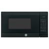 GE 0.7-cu ft 700-Watt Countertop Microwave (Black)
