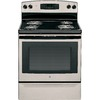 GE Coil Surface Freestanding 4-Element 5-cu ft Self-Cleaning  Electric Range (Silver) (Common: 30-in; Actual: 29.875-in)