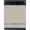 GE 62-Decibel Built-in Dishwasher (Silver Metallic) (Common: 24-in; Actual: 24-in) ENERGY STAR