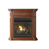 Cedar Ridge Hearth 43.75-in Dual-Burner Vent-Free Apple Spice Liquid Propane and Natural Gas Fireplace with Thermostat and Blower