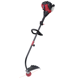 Troy-Bilt 29-cc 4-Cycle 17-in Curved Shaft Gas String Trimmer Edger Capable (Attachment Compatible)