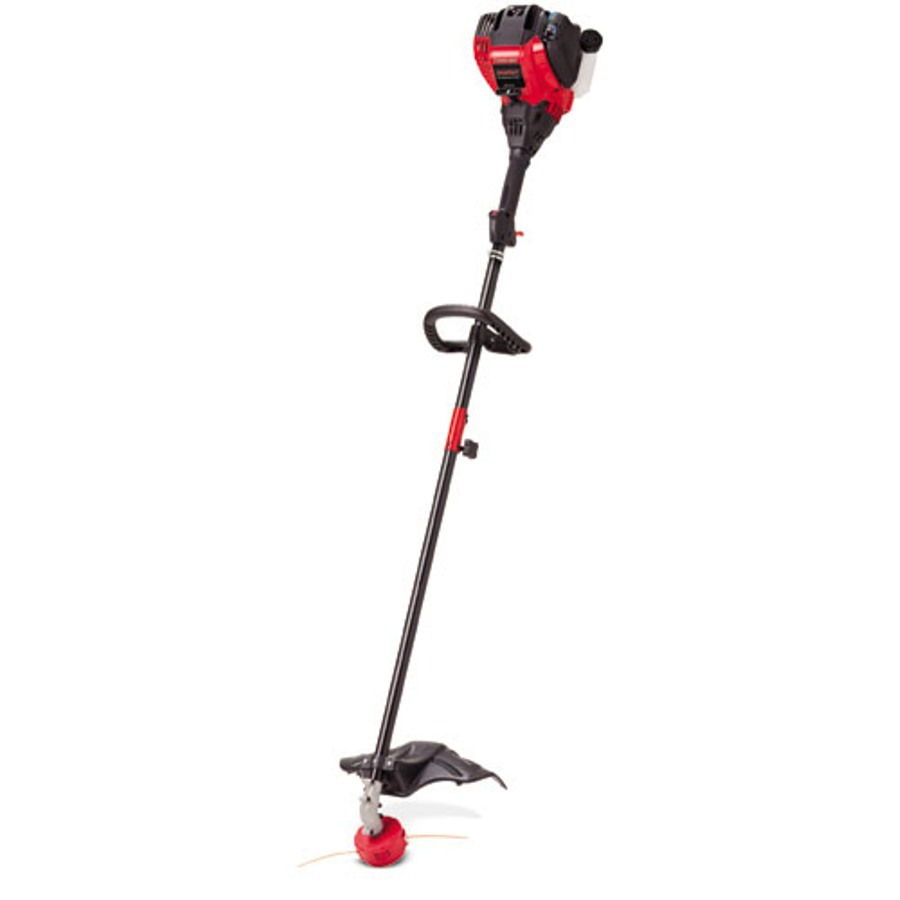Shop Troy-Bilt 29-cc 4-Cycle 17-in Straight Shaft Gas String Trimmer Edger Capable (Attachment ...