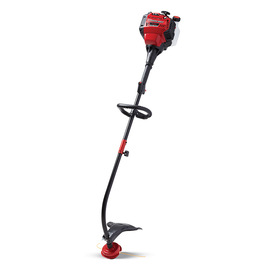 Troy-Bilt 30cc 4-Cycle 17-in Curved Shaft Gas String Trimmer and Edger