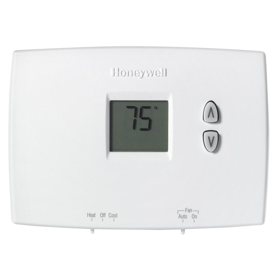 honeywell heating thermostat instructions