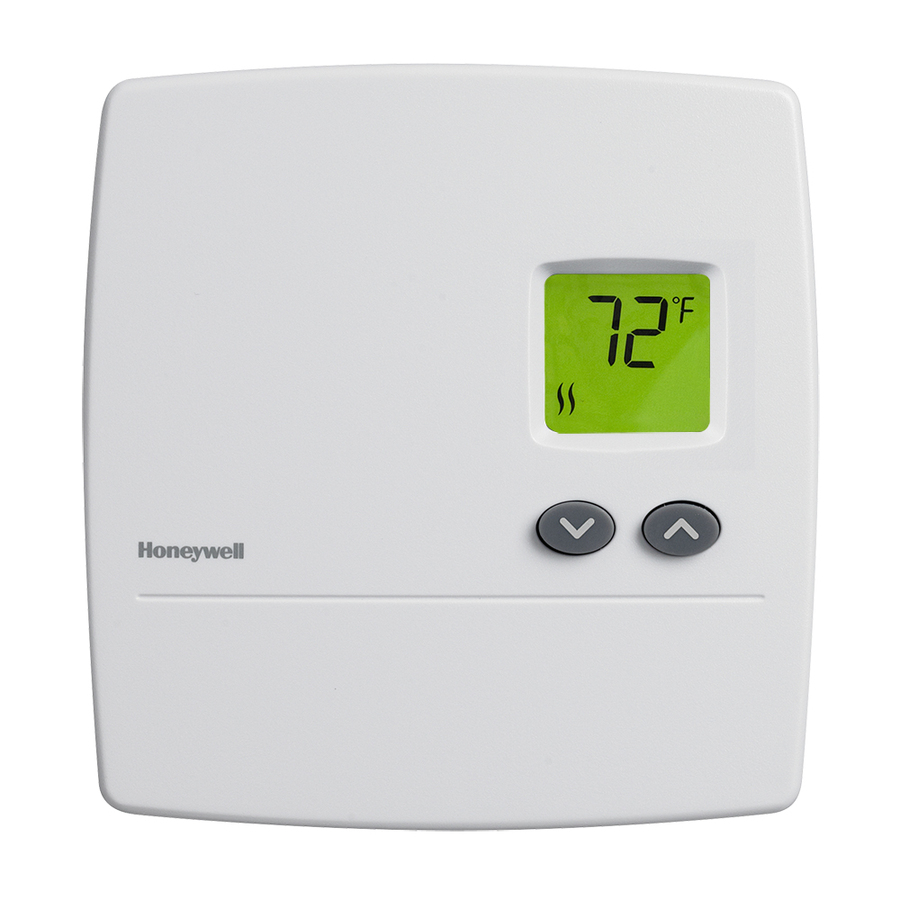 Shop Honeywell Rectangle Electronic Non Programmable