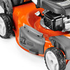 Husqvarna 160cc 22-in Self-Propelled Front Wheel Drive 3-in-1 Gas Push Lawn Mower with Honda Engine and Mulching Capability
