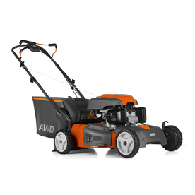Husqvarna HU800AWD 190cc 22-in Pull Start Self-Propelled All-Wheel Drive 3-in-1 Gas Push Lawn Mower with Honda Engine and Mulching Capable